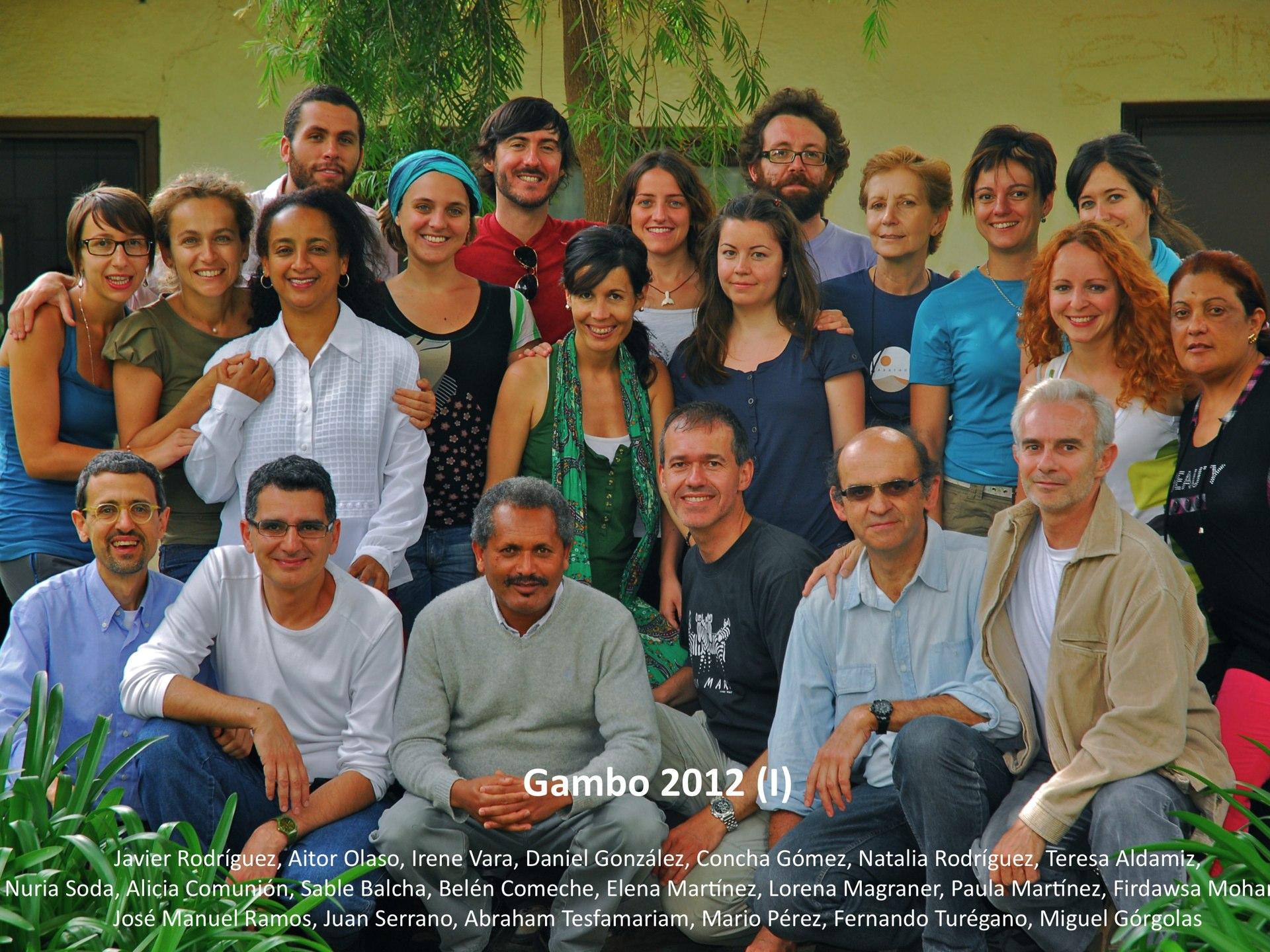 Gambo 2012 A foto grupo