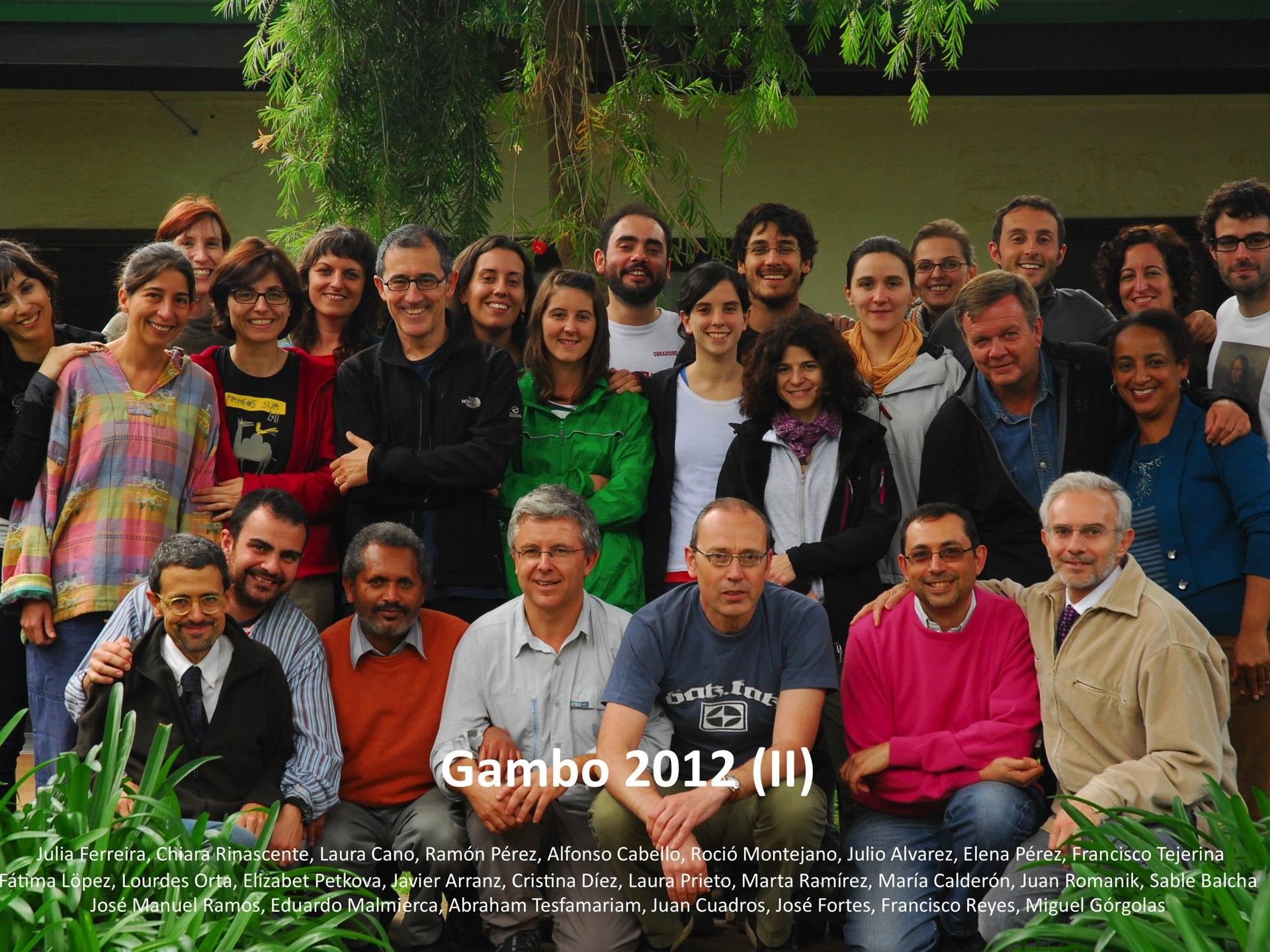 Gambo 2012 B foto grupo